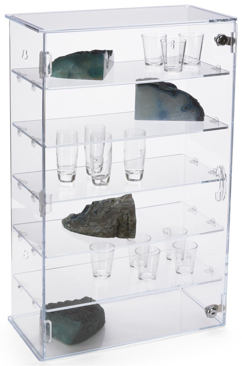 Workshop Series Acrylic Countertop Display Case W 5 Shelves