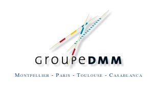 Le logo du Groupe DMM