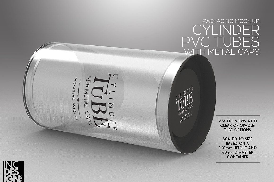 Download Round Tube Tin Packaging Mockup Packaging Mockup Packaging Cylinder