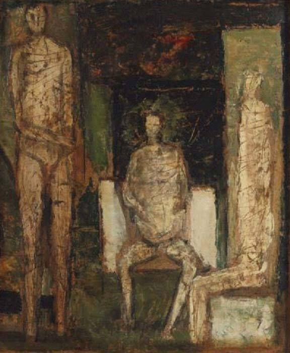 Ljubo Ivancic Small composition, 1956.