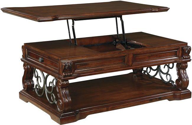 Woodboro Lift Top Coffee Table Dengan Gambar Mebel