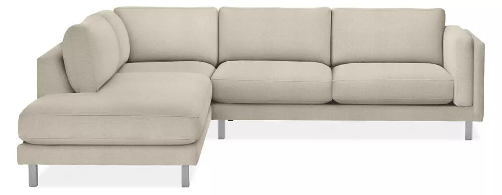 Cade Sectionals Modern Sectionals Modern Living Room Furniture Room Board In 2020 Modern Furniture Living Room Modern Sectional Custom Sectional