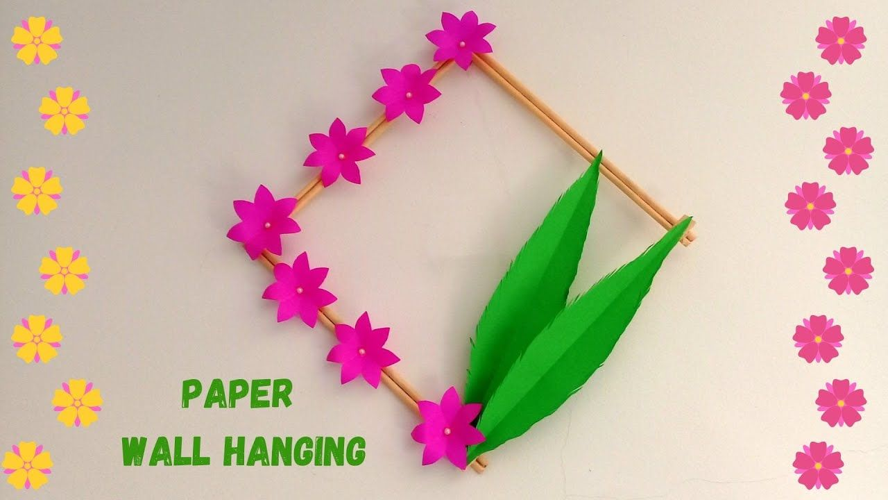 How To Make Wall Hanging For Room Decor Best Out Of Waste