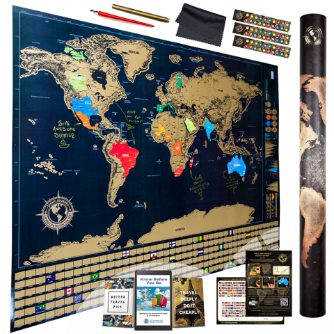 Exclusive lightning sale for travelers scratch off world map exclusive lightning sale for travelers scratch off world map available with attractive discounts and perks on november 18 gumiabroncs Gallery