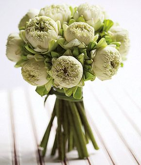 Lotus Blossom Bouquet. These Flowers Look Similar To Peonies! Part 90