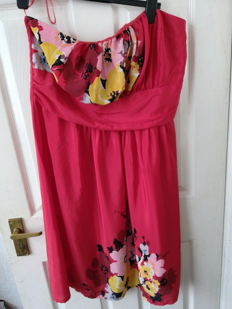 George ASDA Strapless Dress Size 22