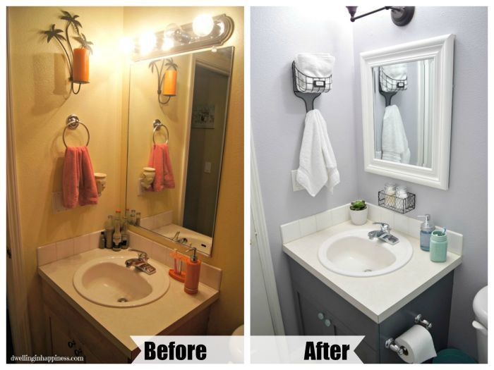 Light Bright Guest Bathroom Makeover The Reveal Bathroom Makeover Diy Bathroom Design Guest Bathroom