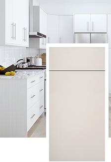 Salerno Polar White | Home Decorators Cabinetry