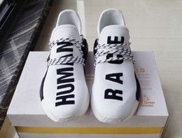 brand new d8c5b 90931 Original Pharrell Williams X NMD Human Race Running Shoes NMD Runner NMD  men and women Trainers Sneakers Boots Size 36-45 for sale