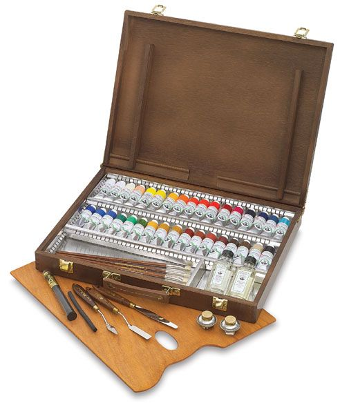 Old Holland Classic Oil Colors Blick Art Materials In 2020 Oil Paint Set Art Materials Paint Set