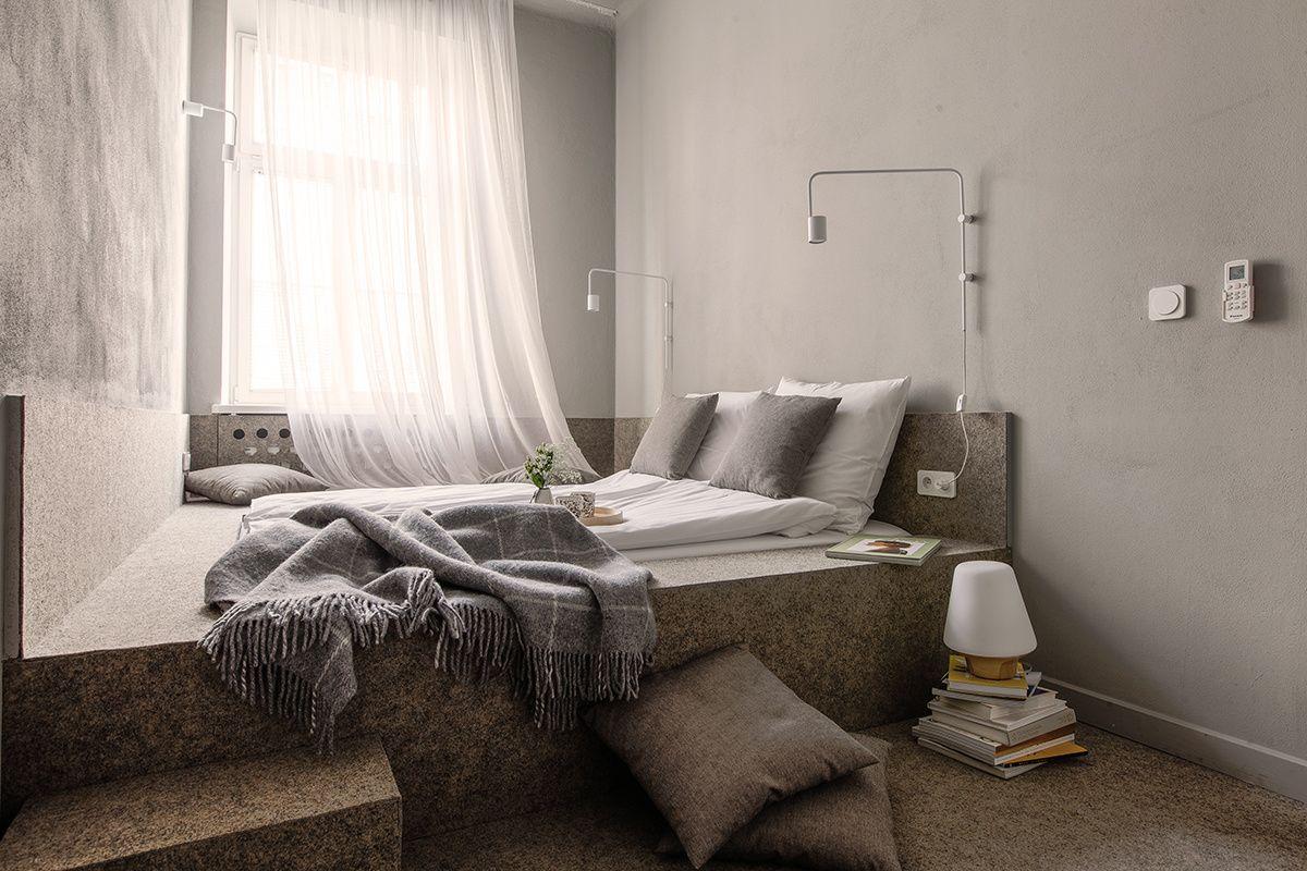 Bedrooms Minimalismo con historia en Polonia