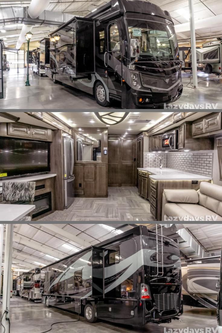 Behold The Fleetwood Rv Discovery Lxe Luxury Motorhomes Luxury Caravans Fleetwood Rv