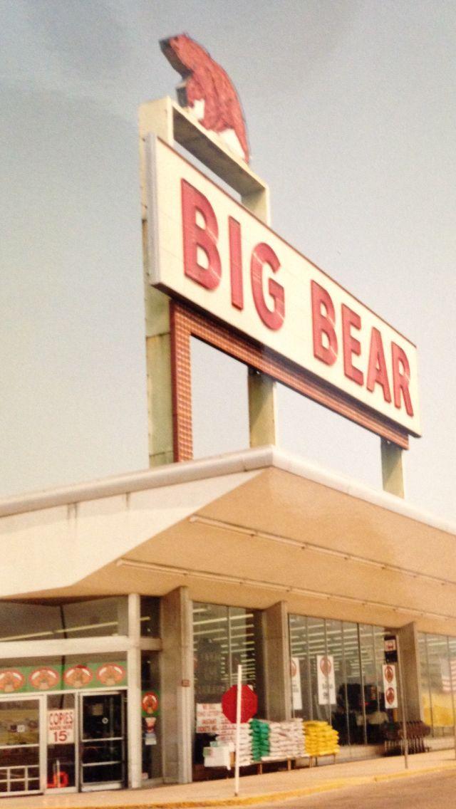 Bear Grocery South High Street Southside Columbus Ohio Retro Vintage