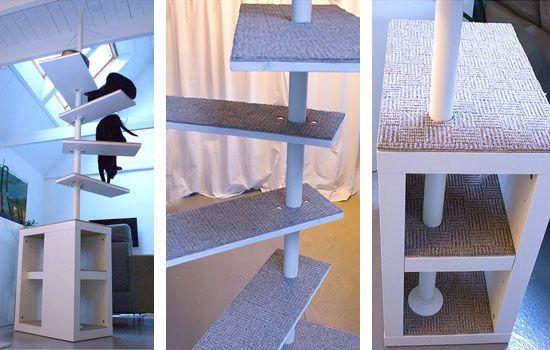 diy arbre chat arbres chat pinterest chat diy. Black Bedroom Furniture Sets. Home Design Ideas