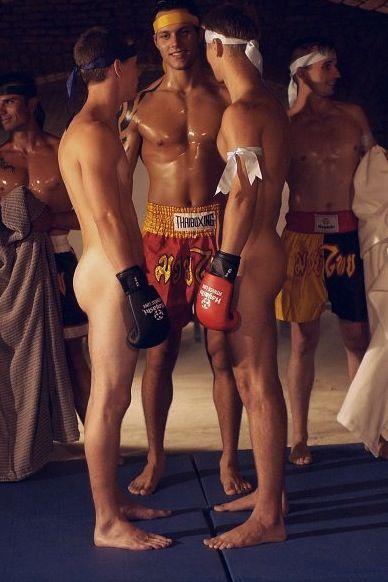 nude kickboxing porn