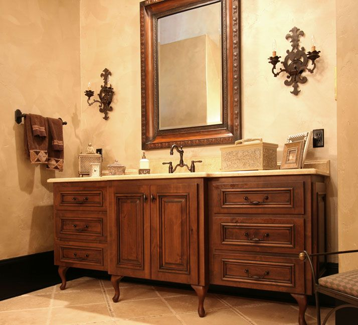 French Country Bathroom Vanities: Bathroom, Master Bath, French Country Flair