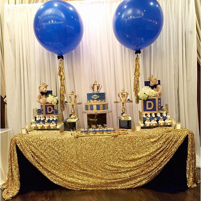 mulpix a gorgeous set up by for a royal prince baby shower