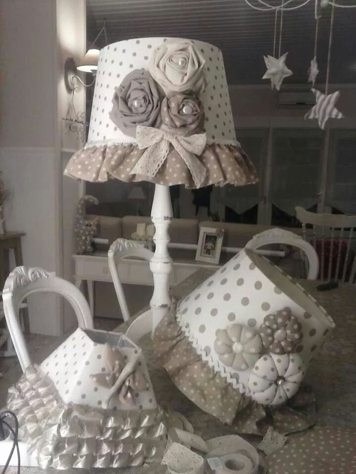 paralumi luminaires lampes shabby pinterest deco idee deco et d co maison. Black Bedroom Furniture Sets. Home Design Ideas