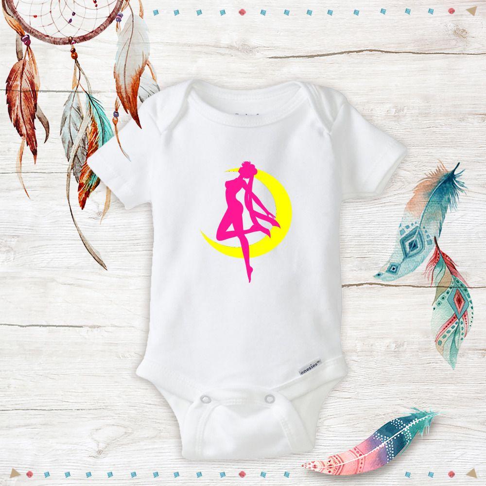 Baby sailor moon onesies costume newborn baby girl