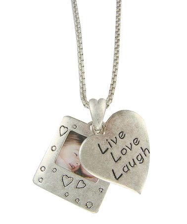 Another great find on zulily silver gold live love laugh silver gold live love laugh pendant aloadofball Gallery