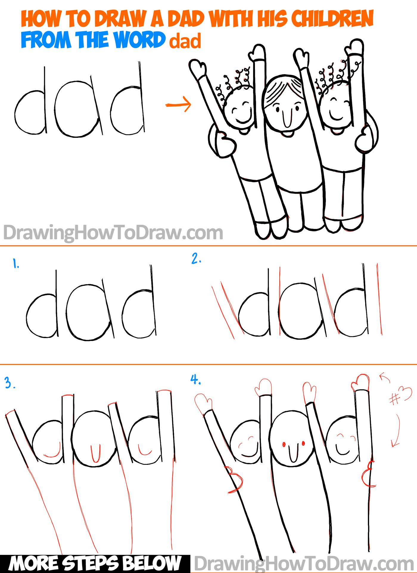 Uncategorized Basic Drawing For Children learn how to draw a cartoon bunny rabbit scene from lowercase dad and children the word easy toon