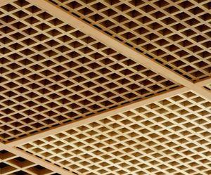 panneau faux plafond bois grillage 58080 300. Black Bedroom Furniture Sets. Home Design Ideas