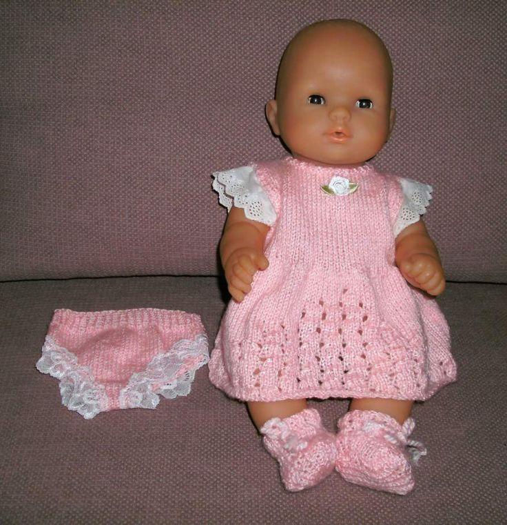 6538b50cc7439 Vêtements poupées poupons Tricot   crochet gratuit Les modèles ...
