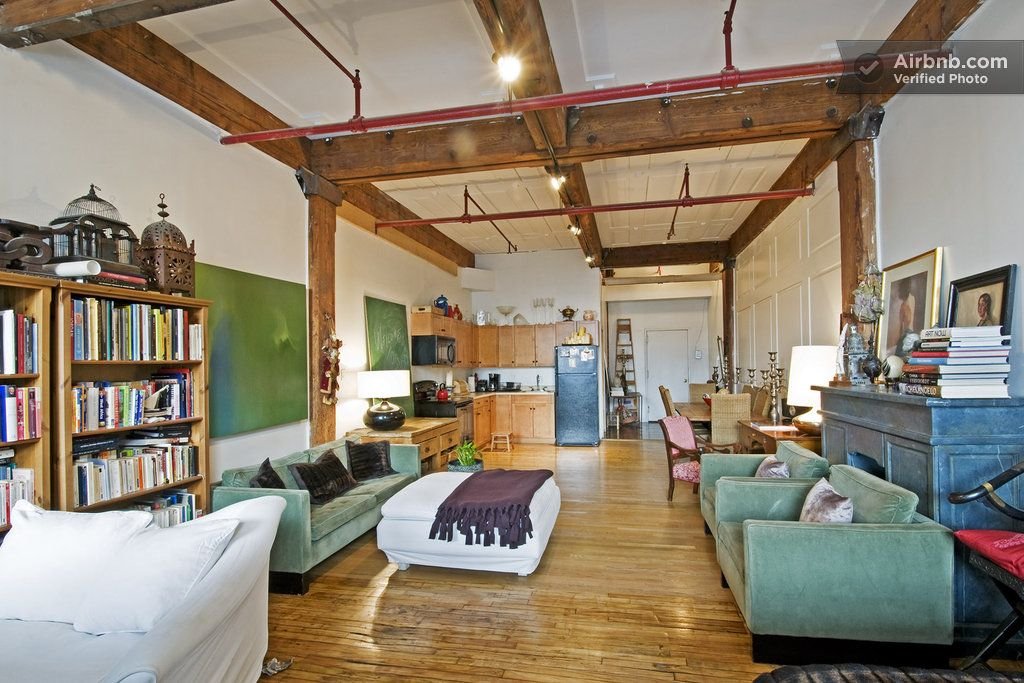 LOFT WITH BREATHTAKING VIEWS in Brooklyn Rooms for rent