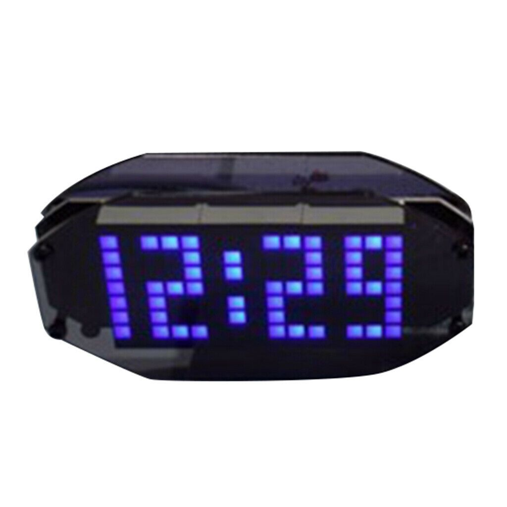 Led Alarm Clock Digital Desk Clock Precision Time Date Temperature Set Clock Clock