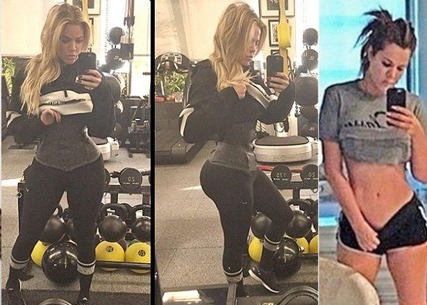 ee47500aab khloe kardashian waist training weight loss
