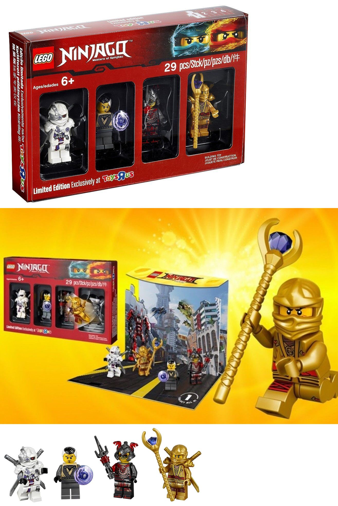 Building Toys 183446 Lego Ninjago Minifigure Set 5004938