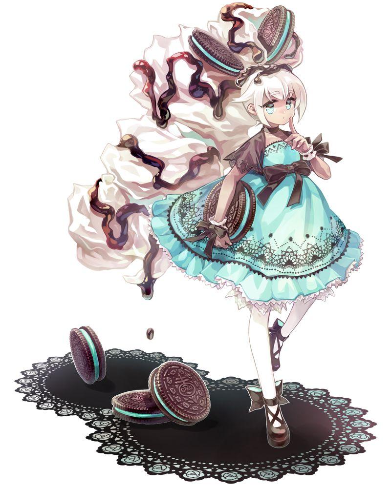 Big daughter of mint oreo kawaii disney in 2018 pinterest manga dessin manga and dessin - Dessins manga fille ...
