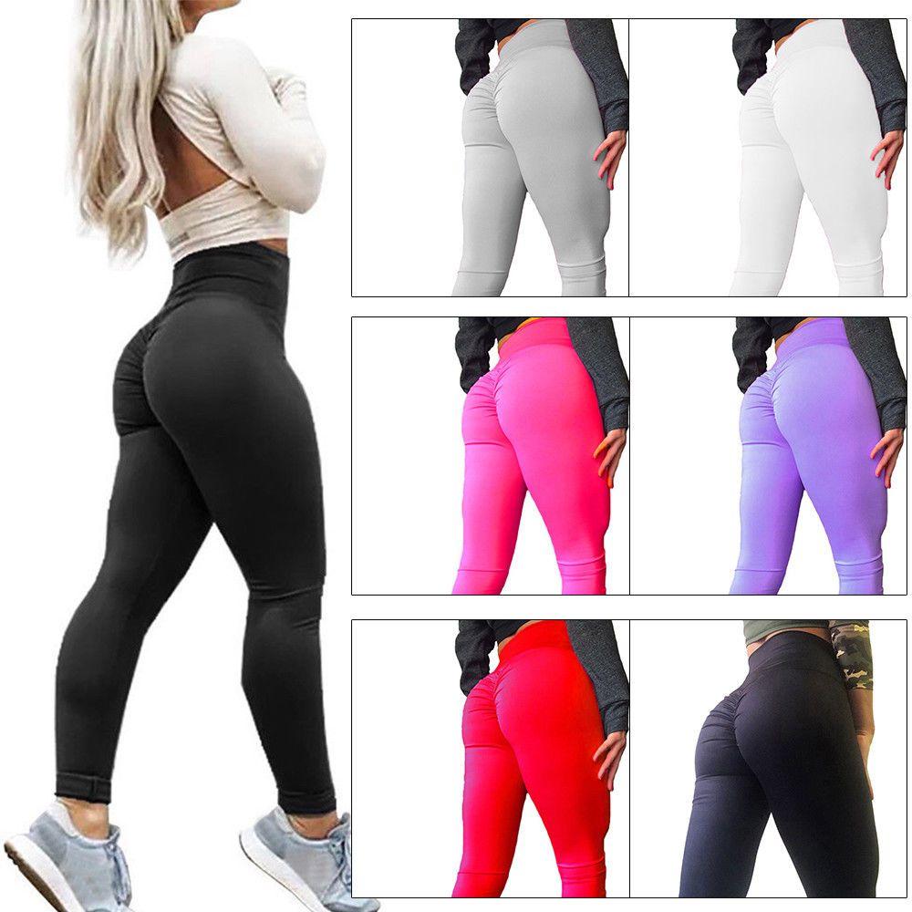 1faba8a024 Yoga Pants Sexy Women Butt Lift Hip Push Up Leggings Exercise Workout  Stretch WR #fashion