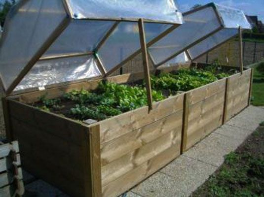 Hochbeet Als Fruhbeet Garden Vegetable Garden Garden Beds Und