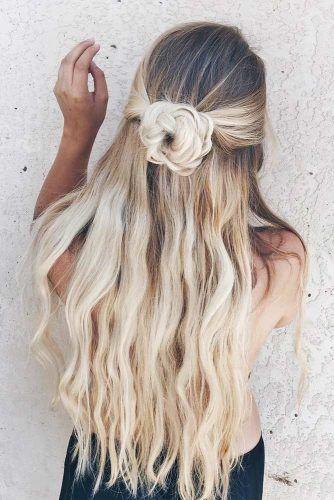 18 Easy Quick Hairstyles For Busy Mornings Long Hair Styles Hair Styles Easy Homecoming Hairstyles