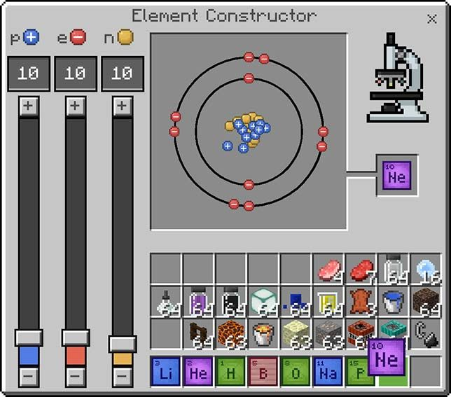Minecraft Education Edition element constructor SECONDARY SCIENCE - fresh 8.5 x 11 periodic table of elements