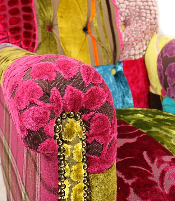 patchwork upholstry fabric Just Fabrics - Curtain Fabric and