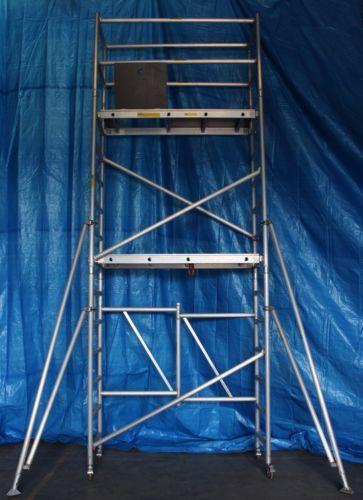 Aluminum Mobile Folding Scaffold Tower F50 Scaffolding Platform Height 3 9m Scaffolding Aluminum Gumtree Australia