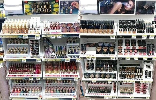 Spotted Circa Beauty And Nonie Creme Colour Prevails Displays At