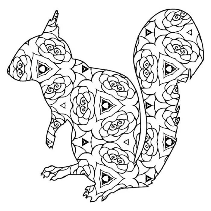 30 Free Printable Geometric Animal Coloring Pages The Cottage Market Animal Coloring Pages Coloring Pages Geometric Animals