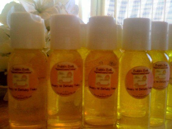 25 Body Joy Bubble Bath Shower & Bath Gel Custom Labels 1.3 oz SPA ...