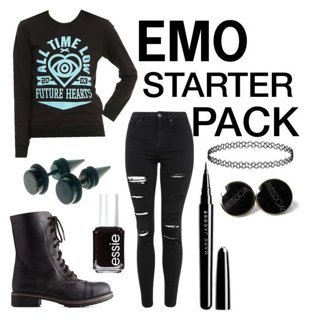 """emo Starter Pack"" By Hailey-clifford On Polyvore"