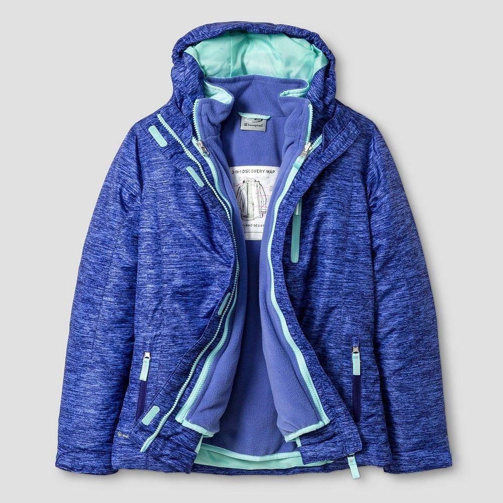7ab46652e7ea C9 Champion Girls  Heavyweight Puffer Jacket Lavender