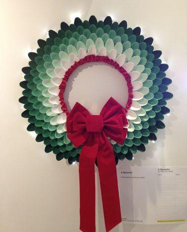 15 ideas para decorar con cucharas de pl stico detalles - Reciclaje manualidades decoracion ...