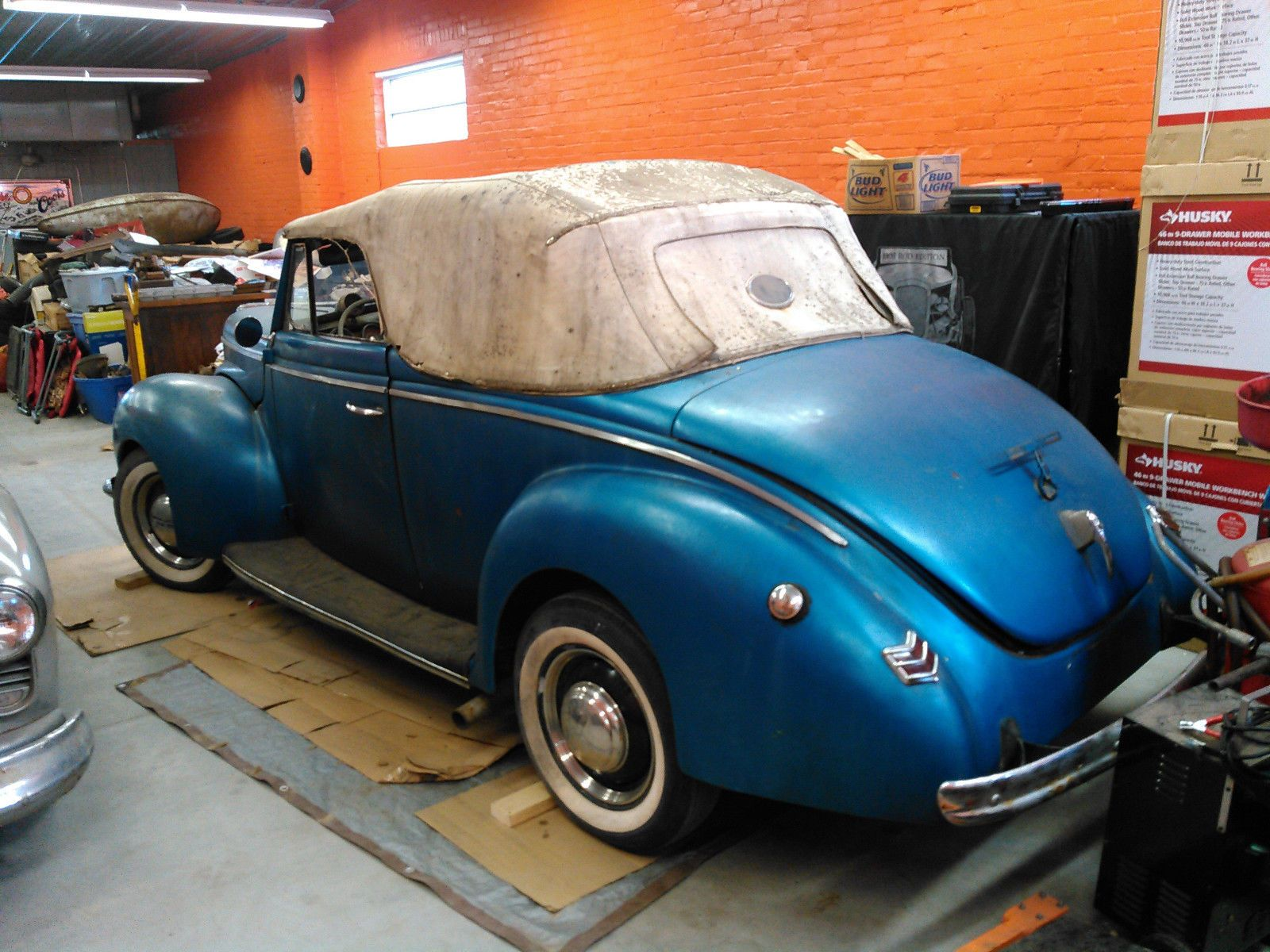 1940 Ford Deluxe Convertible Rat Rod Gasser | 40s cars for sale ...