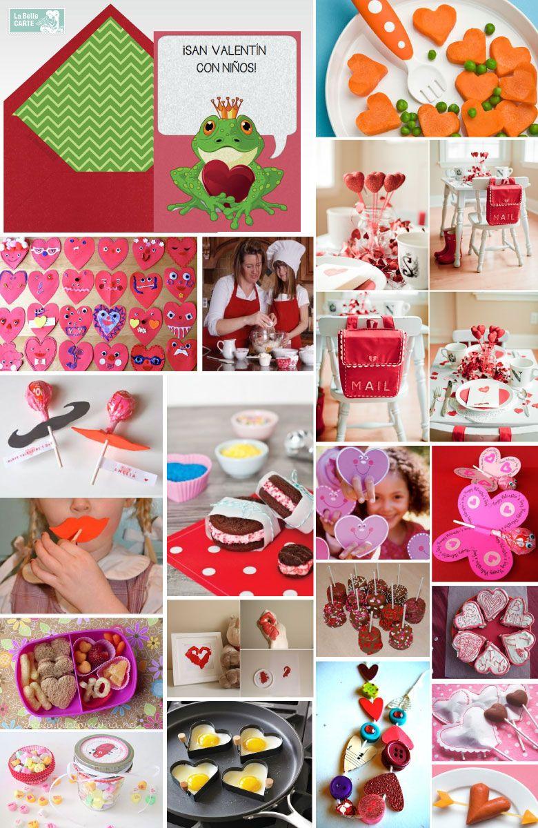 Tarjetas de san valentin e ideas para celebrar el 14 de febrero con ni os gift ideas - Ideas para sanvalentin ...