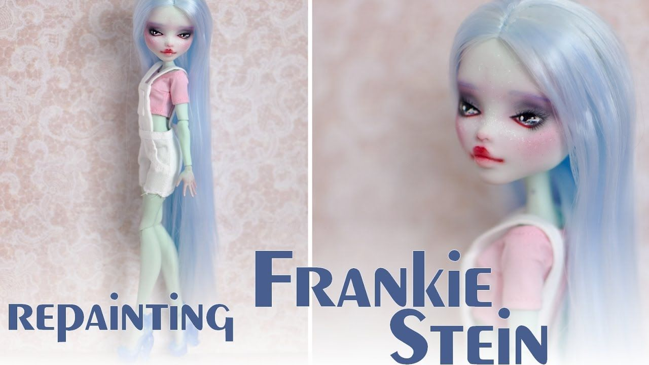 Repainting Frankie Stein on a rebooted Monster High doll | BJD ...