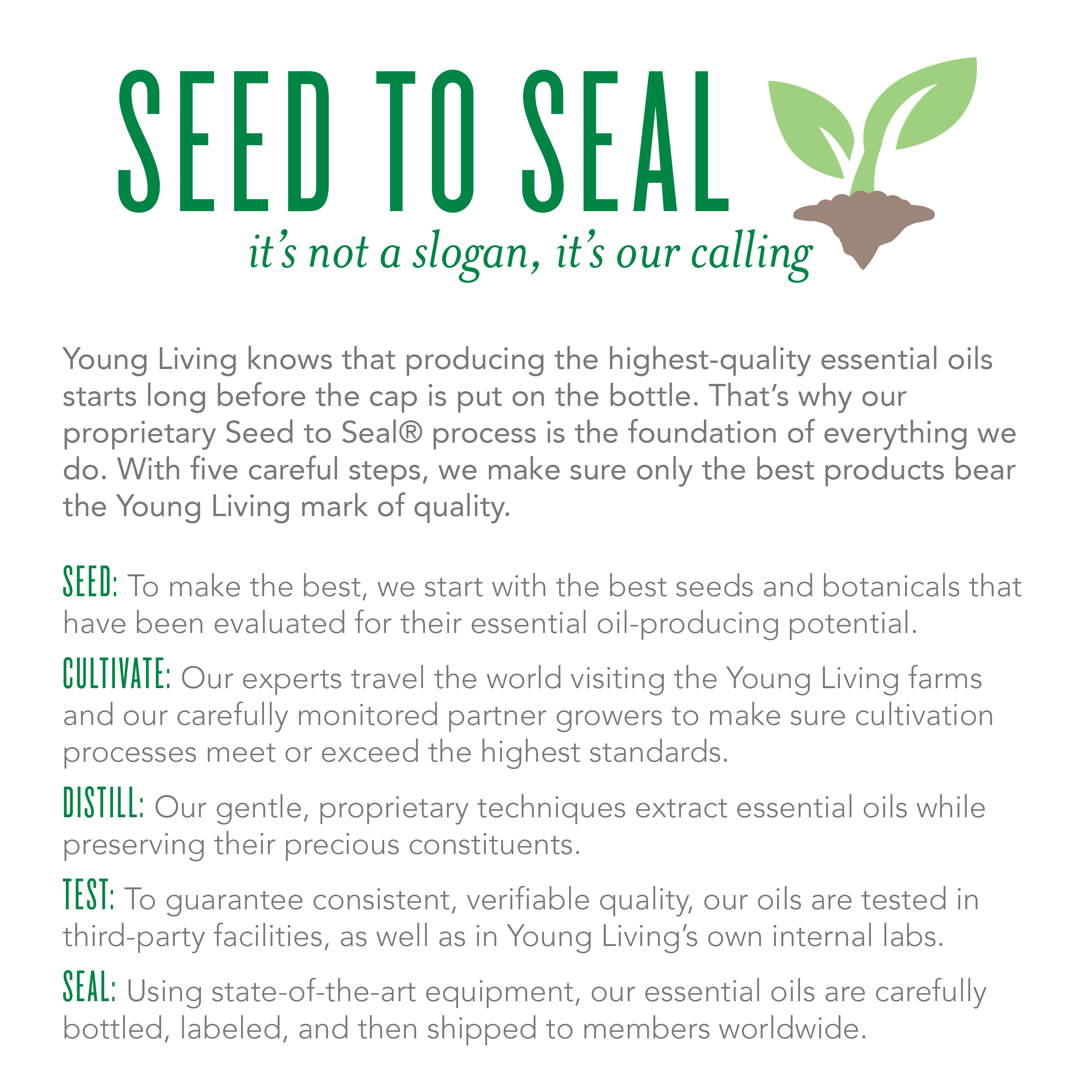 Young living seed to seal its not a slogan its our calling living oils nvjuhfo Image collections