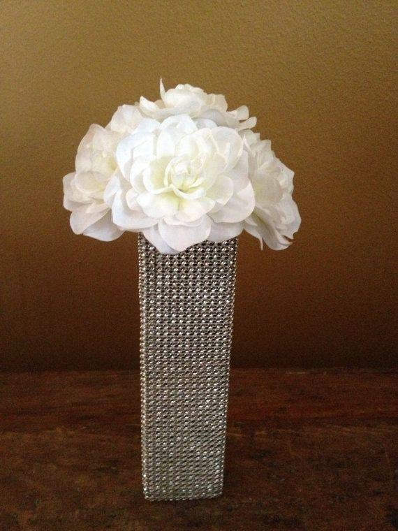 Gardenia Flower Bling Vase Centerpiece On Etsy 1400 Mom And