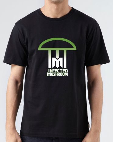 1cc68bf8a #InfectedMushroom T-Shirt Logo for men or women. Custom DJ Apparel for Disc  Jockey, Trance and EDM fans. Shop more at ARDAMUS.